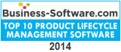 Business-Software.com Top Ten PLM Award for 2014