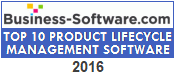 Business-Software.com Top Ten PLM Award for 2016