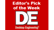 Desktop Engineering Editor's Pick of the Week