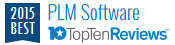 Top Ten Reviews - 2015 Best PLM Software